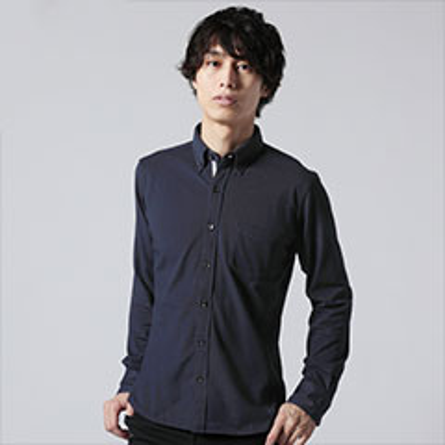 Buyer's Select/吸湿 速乾 鹿の子 長袖 シャツ