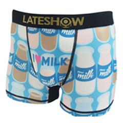 LATE SHOW/Milk メンズアンダーウェアボクサーパンツ