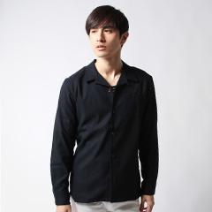 Buyer's Selec/日本製ワンナップオープンカラーデザインシャツ
