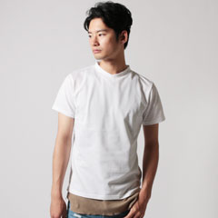 Upscape Audience/日本製クールマックス鹿の子S/S TEE