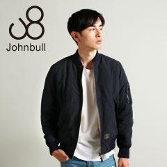 Johnbull/メモリーダブルクロスピーチシンサレートリバーシブルMA-1ブルゾン