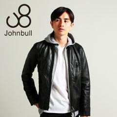 Johnbull/シープレザーシングルライダースジャケット