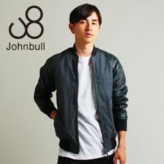 JohnBull/シープレザー ヌバックレザー切り替え薄綿入りアワードジャケット