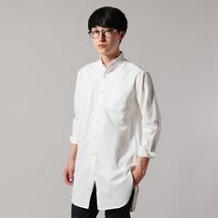 日本製パウダースノーツイルローマシャツ