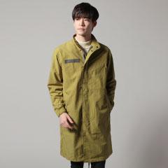 日本製リップストップナイロンモッズコート