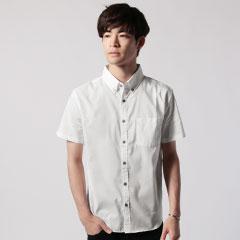 日本製COOLMAXボタンダウン半袖シャツ