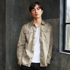 日本製VENTILEファティーグシャツジャケット