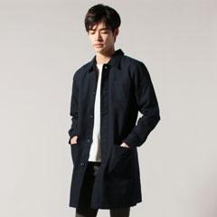 日本製ヘビーオックスカバーオールステンカラーコート