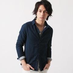 極柔ダブルガーゼ半袖/7分袖シャツ