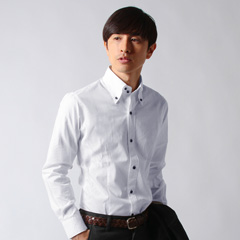 SPUTNICKS/日本製デュエボットーニシャツ