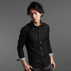 100双糸ブロード立体裁断の国産キレイめシャツの最高傑作。