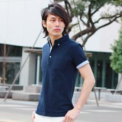 SPU/クールマックスシアサッカ—半袖ポロシャツ