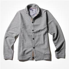 シャツ、カットソーとも相性抜群!生地表面のジャガードの柄が雰囲気ある大人のジャケット販売開始!