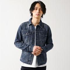≪5カラーから選べるデニムジャケット≫着こなしやすいデザインかつ、本格派のデニム生地で仕上げた大人の一着。