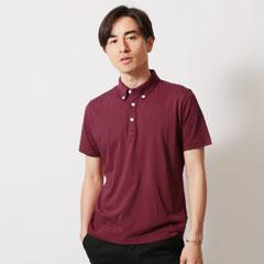 SPU別注 日本製30コーマ天竺B/Dポロシャツ