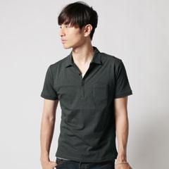 Upscape Audience×SPU/SPU別注 日本製30コーマショートポイントポロシャツ