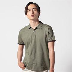 SPU別注 日本製30コーマ天竺ラインポロシャツ