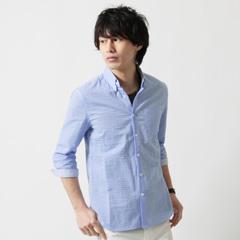 SPU/カラーサッカー7分袖シャツ