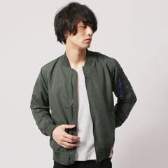 ポリピーチMA-1ジャケット