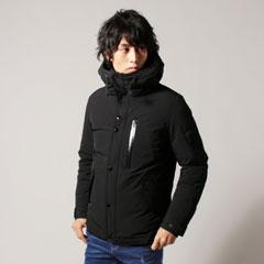 2wayストレッチダウンフェザーシティデザインジャケット