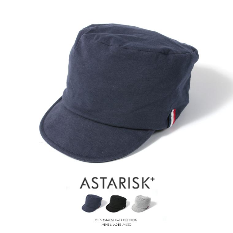 ASTARISK+/スウェット風ワークキャップ
