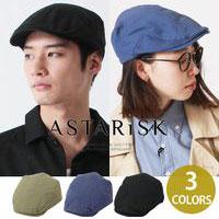ASTARISK/ベーシックハンチング帽