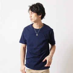 Buyer's Select/ピンタック半袖クルーネックカットソー