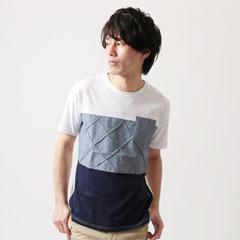 Buyer's Select/3弾切替UネックTシャツ
