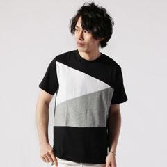 プレミアムナノテックスバイアス切替半袖Tシャツ
