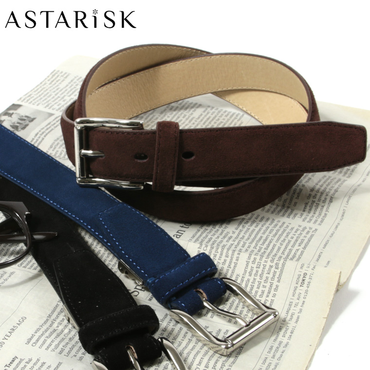 ASTARISK+/ヌバックレザーベルト