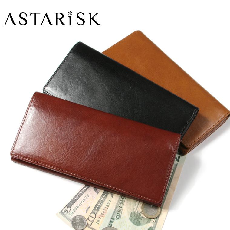ASTARISK/イタリアンレザー長財布