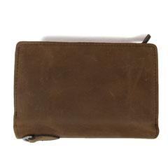 ASTARISK/USAヌバックレザー二つ折り財布