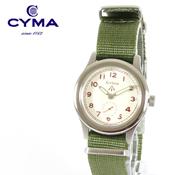 ASTARISK/スモールセコンドミリタリーウォッチ腕時計