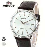 ORIENT/電池式マルチカレンダーレザー腕時計