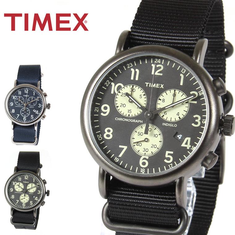 TIMEX/ウィークエンダークロノグラフ腕時計