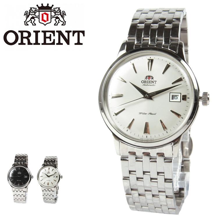 ORIENT/レザーベルト自動巻き腕時計