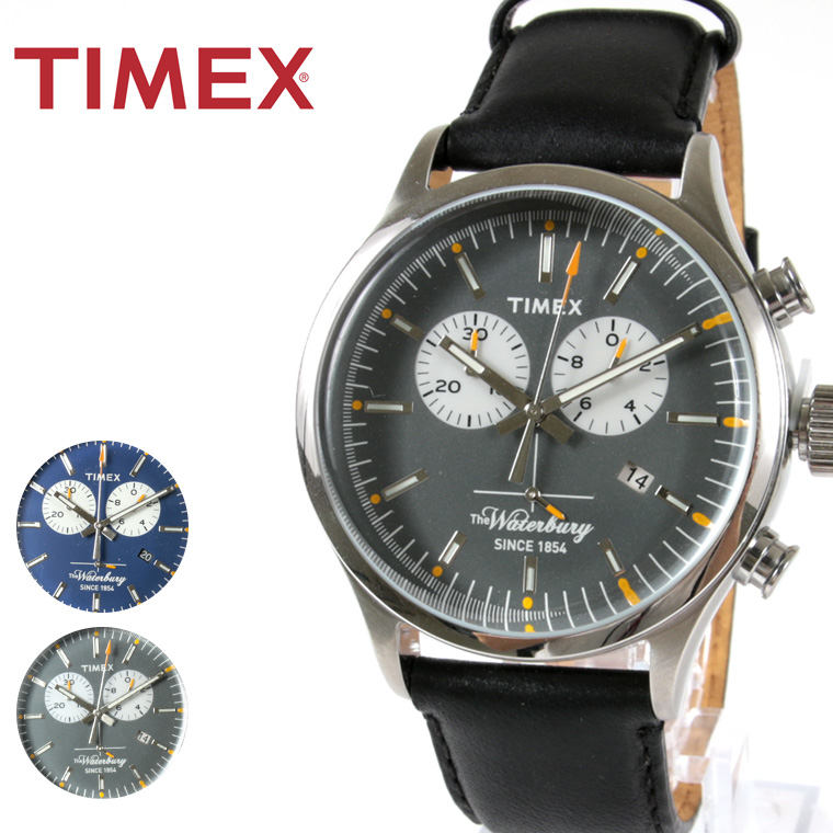 TIMEX/The Waterbury Collection クロノグラフ腕時計
