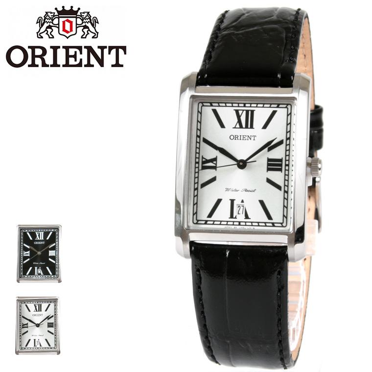 ORIENT/海外モデルレザーベルトクオーツ腕時計