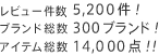 ��ӥ塼��� 5,200��! �֥������ 300�֥���! �����ƥ���� 14,000��!!