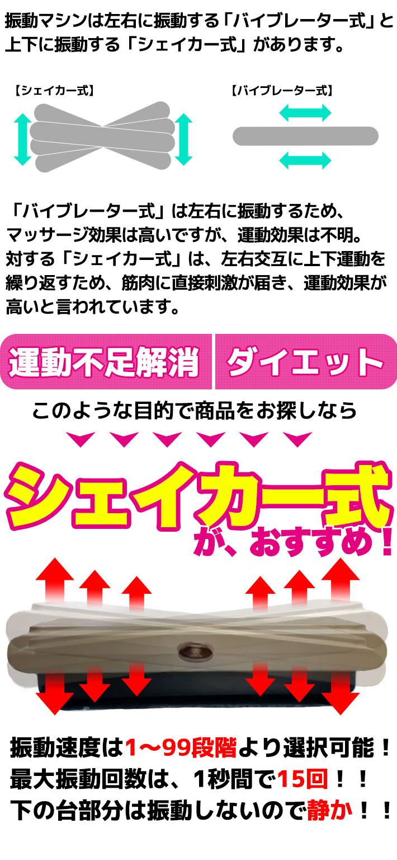 振動マシン スタイリッシュジャパン  ぶるぶる シェイカー式