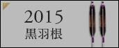 ジュラルミン矢 2015黒羽根