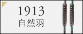 ジュラルミン矢 1913自然羽