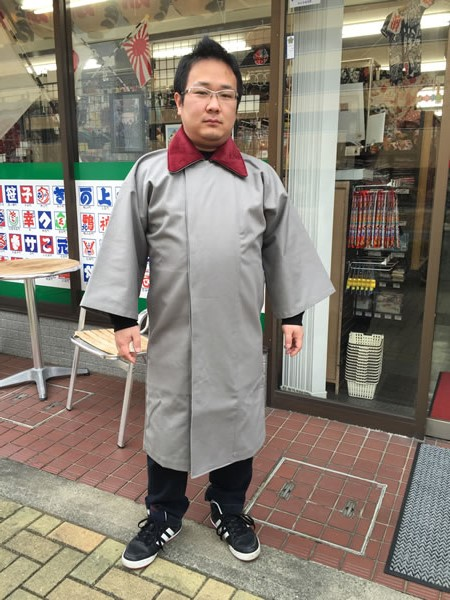 袢纏用 被布コート