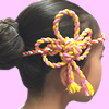 ねじり棒 花結び 花 作り方