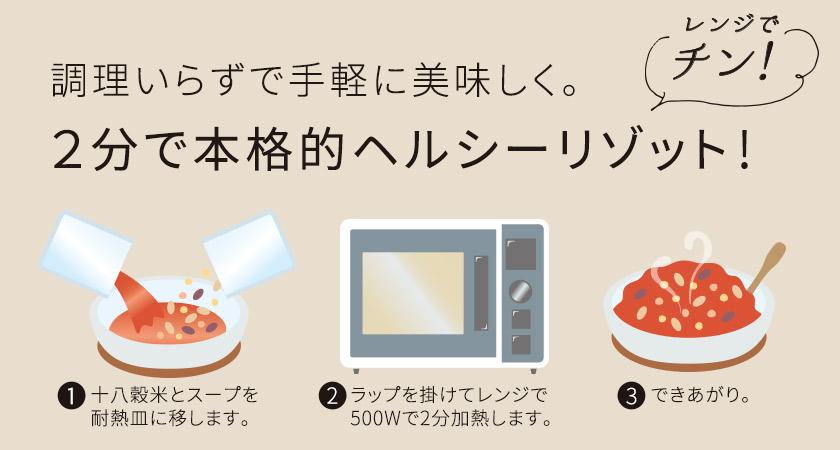 リゾット2調理方法