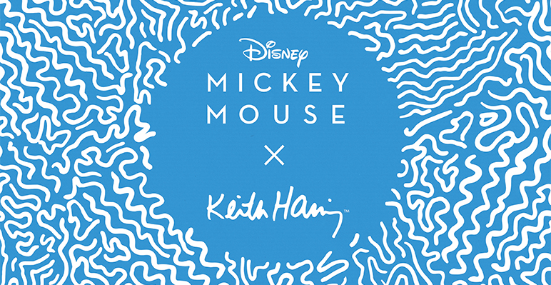 MICKEY MOUSE×Keith Haring