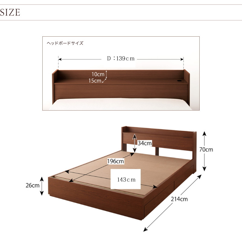 ベッドサイズ1