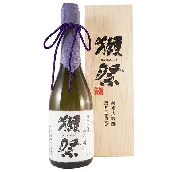獺祭 純米大吟醸 23 木箱入り 720ml