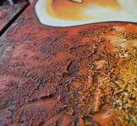 下地が乾燥したら色を入れていきます