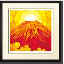 赤の富士 『時刻や季節によって、様々な色(表情)を見せる富士山』